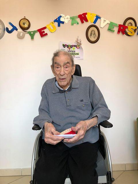 100 ans Monsieur MALLIA