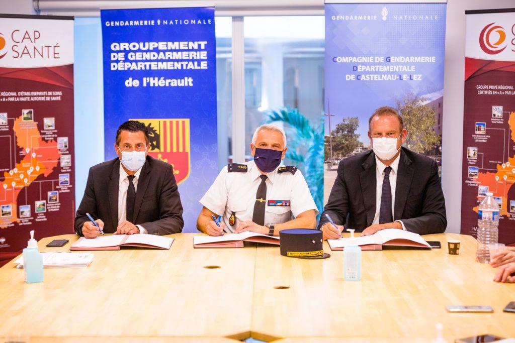 Convention gendarmerie clinique Saint Jean - Sud de France