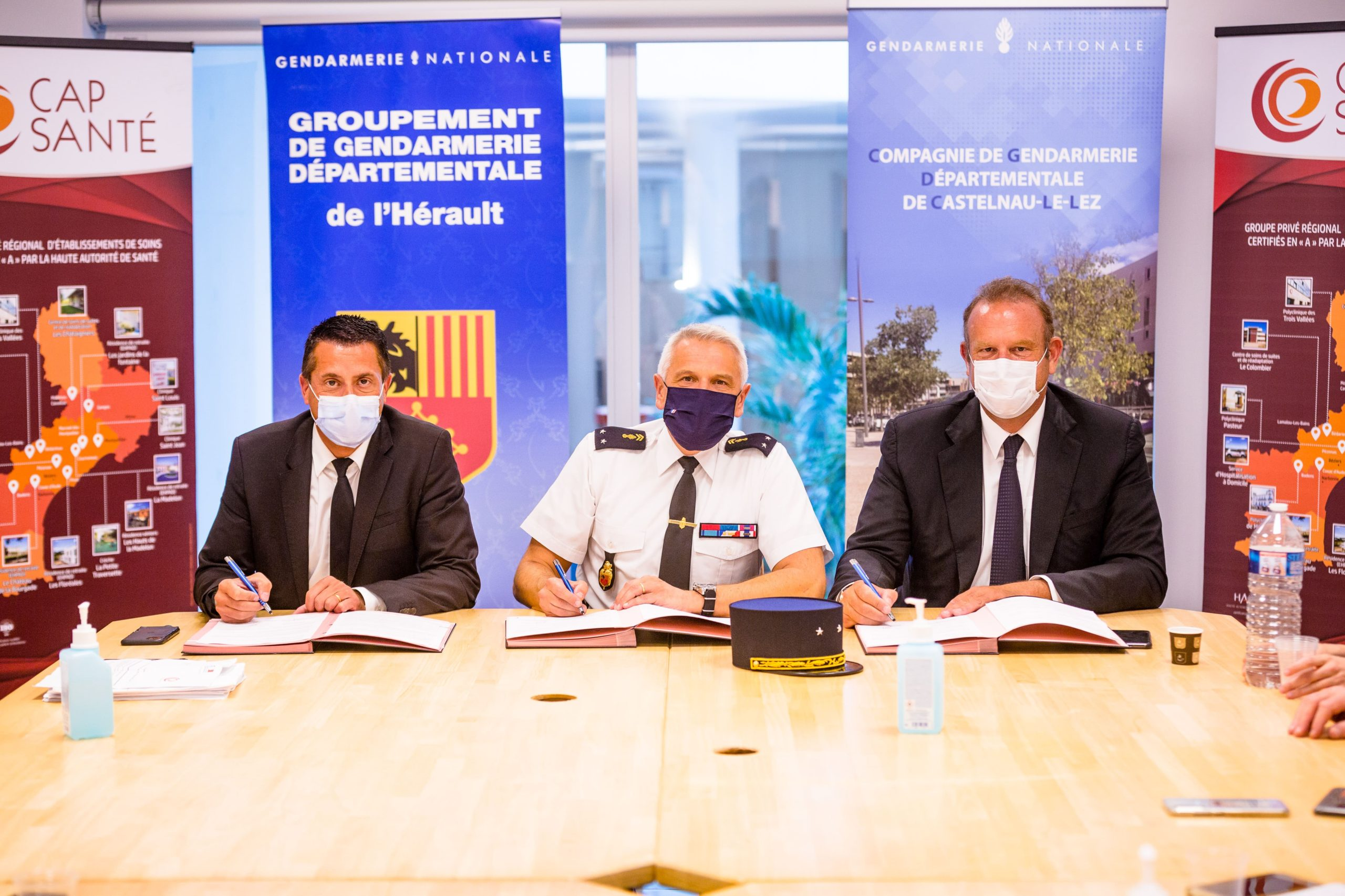 Signature convention - Gendarmerie