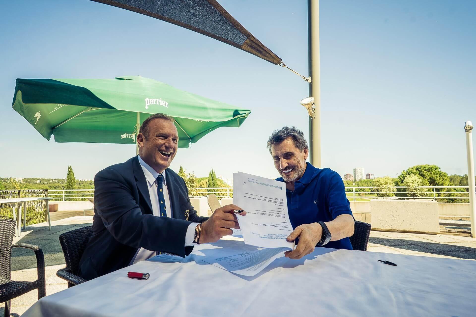 Renouvellement de la convention de partenariat entre le Groupe Cap Santé (groupe d'hospitalisation privée) et le MHR (Montpellier Hérault Rugby)